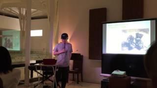 美術館副館長 前田氏の講演から、6月25日、26日にも行われる。特別会場...