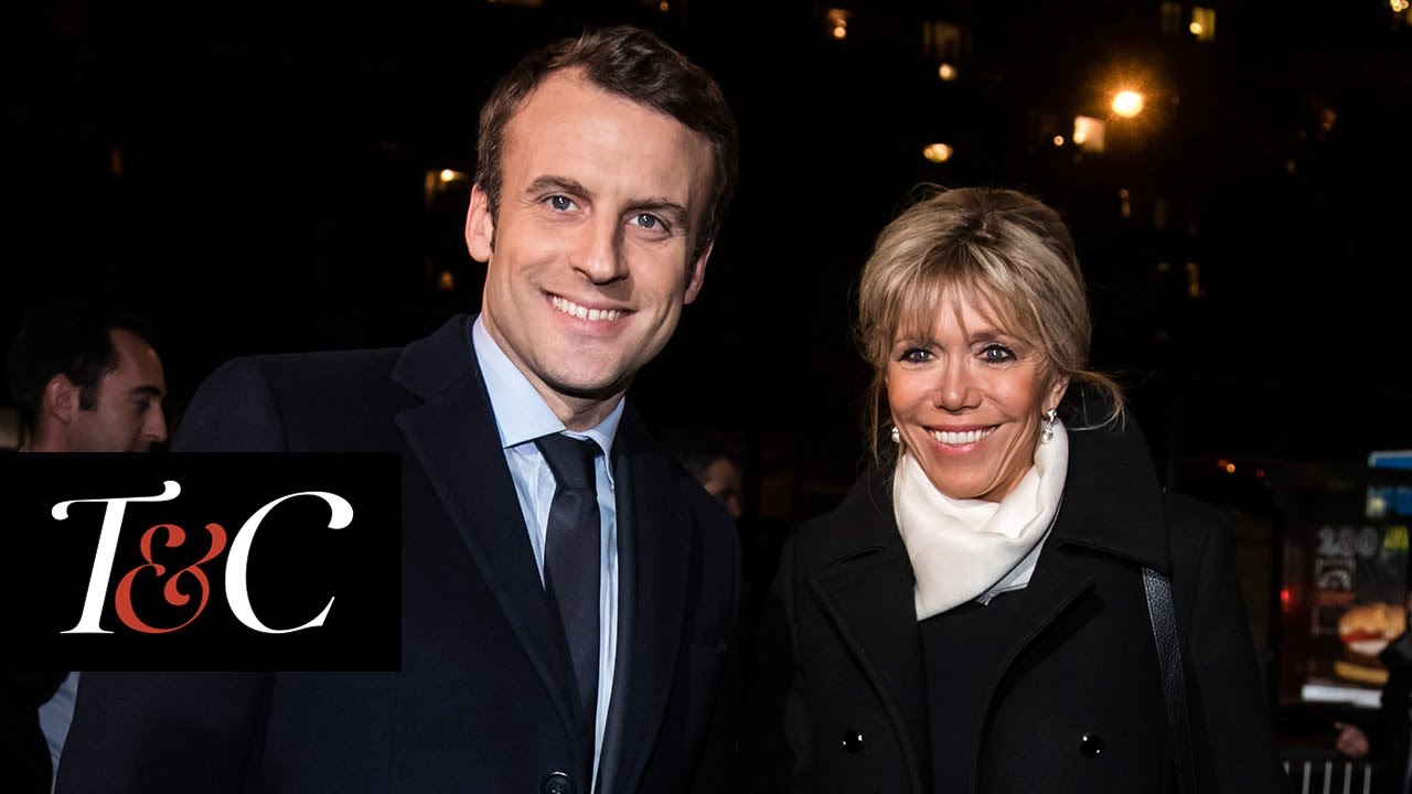 Story Behind French President Elect Emmanuel Macron Brigitte Trogneux S Marriage Town Country Youtube