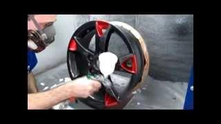 Аквапечать диски Технология покрытия