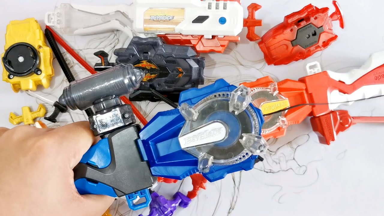 HOW TO FIX BeyLauncher LR and String Laucher ベイブレードバースト 베이블레이드 버스트 Fixing Beyblade Burst Launchers