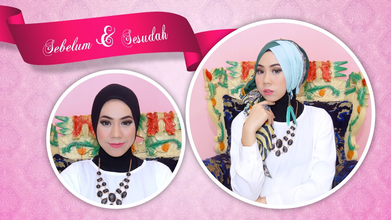 Cara Memakai Jilbab Untuk Pesta Tutorial Hijab YouTube