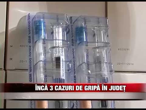 Încã 3 cazuri de gripã în județ