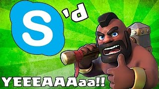 Clash Of Clans Godson Gets Skyped (1 Million Subscriber tribute)