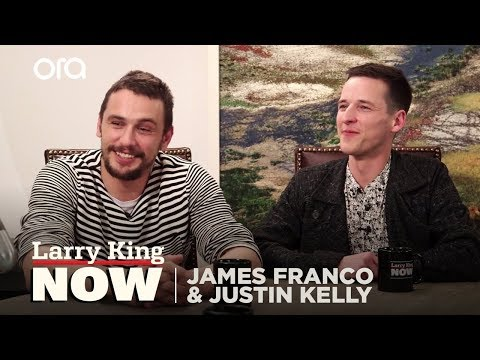 "James Franco and Justin Kelly on ""Larry King Now"" - Full Episode available in the U.S. on Ora.TV"