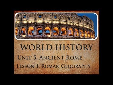 05.01 Roman Geography