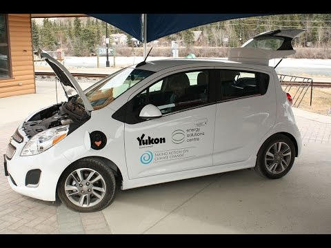Government of Yukon adds an electric car to the fleet
