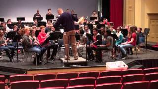 Shaker Hts HS Concert Winds- Across the Great Divide- 3/2/2015