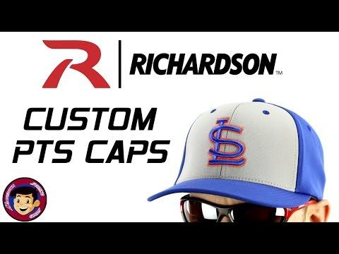 Richardson Custom PTS Caps - Custom Embroidered Baseball Hats