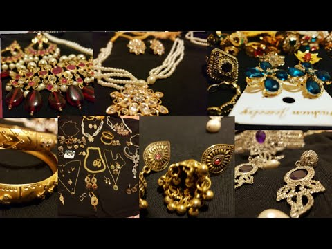My Jewellery Collection[Pakistani Canadian Mom]