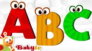 ABC Song, Alphabet Song - Nursery Rhymes | BabyTV
