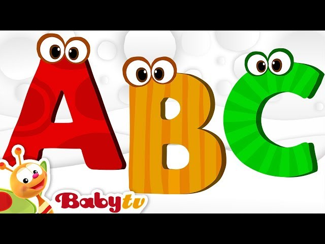ABC Song, Alphabet Song - Nursery Rhymes | BabyTV