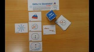 英語講師が子どもたちと遊べる絵カードゲームを作ってくれましたv^v...