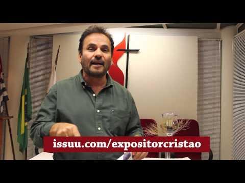 Bispo João Carlos Lopes incentiva leitura do jornal Expositor Cristão