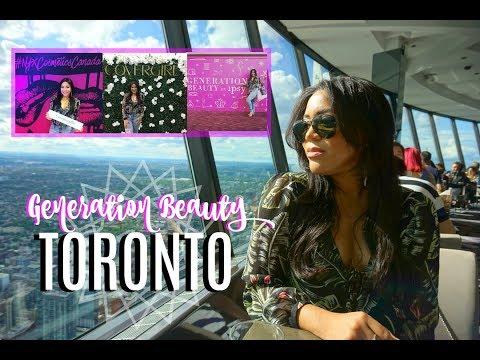 Generation Beauty Toronto Canada MAQUILLAJE GRATIS Y MUCHAS FOTOS! | VLOG