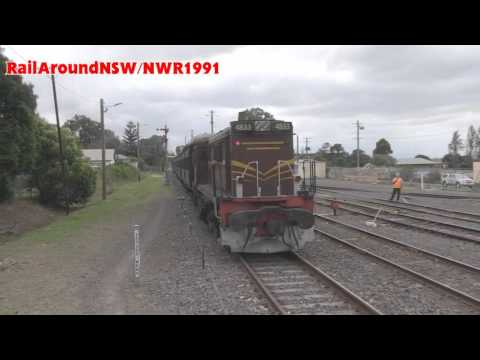 Rail Around New South Wales - December 2015