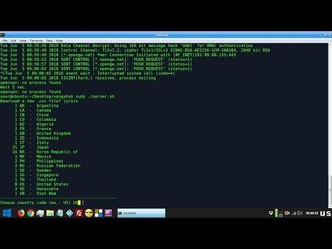 vpngate test ubuntu - YouTube