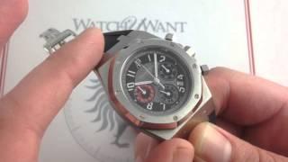 Audemars Piguet Royal Oak Chronograph City of Sails Alinghi Limited Edition