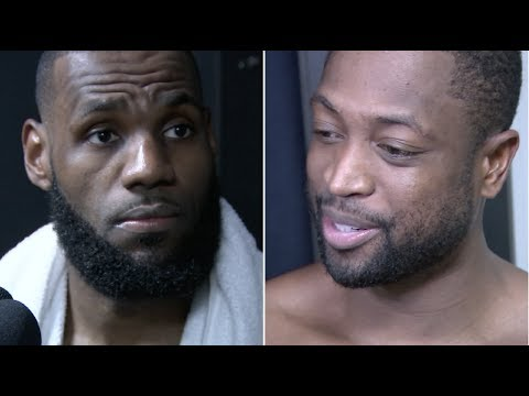 LeBron James and Dwyane Wade talk 3-straight wins, defense and teammates stepping up | ESPN