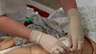 Medicazione ferita chirurgica