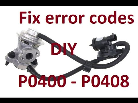 DIY: How to replace EGR on a Chrysler Pt Cruiser P0400/P0408