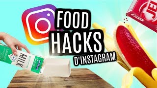 JE TESTE DES FOOD HACKS D\'INSTAGRAM
