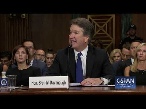 Judge Brett Kavanaugh Opening Statement on Sexual Assault Allegations