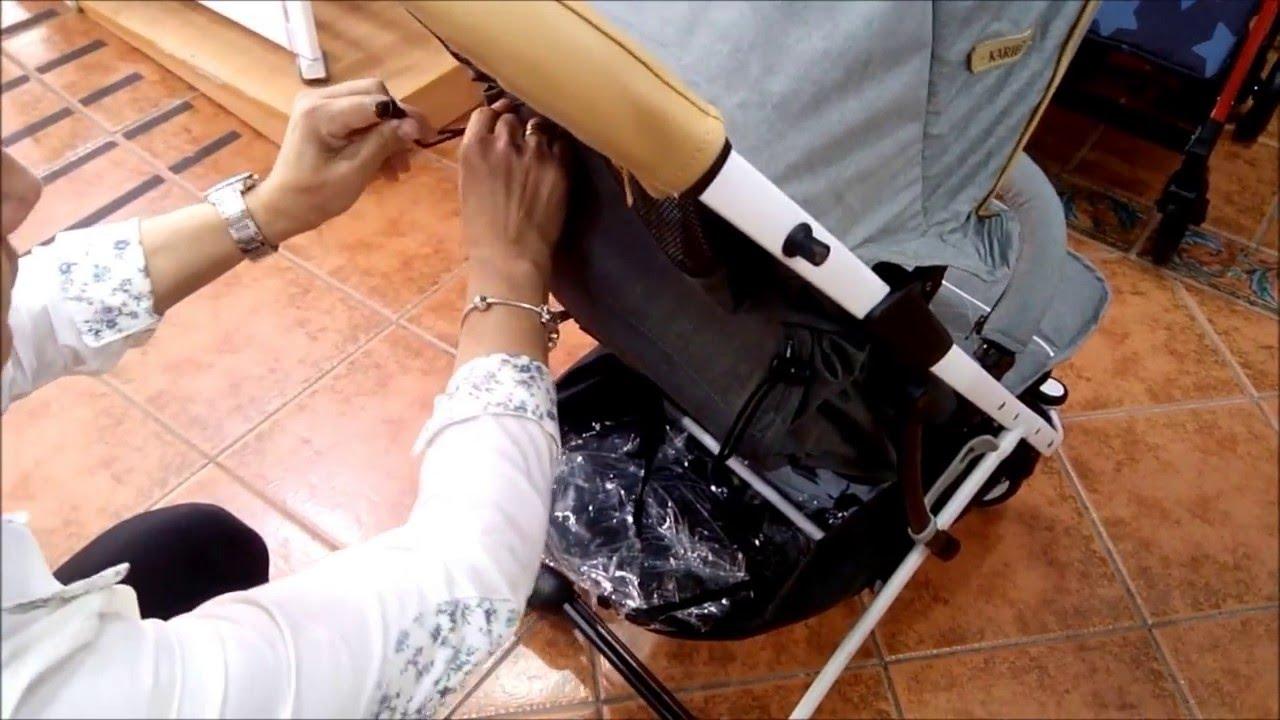 Silla de paseo karibu para bebe super ligera youtube - Silla de paseo karibu ...