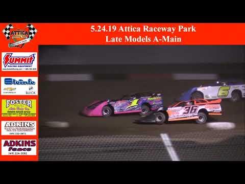 5.24.19 Attica Raceway Park Late Models A-Main