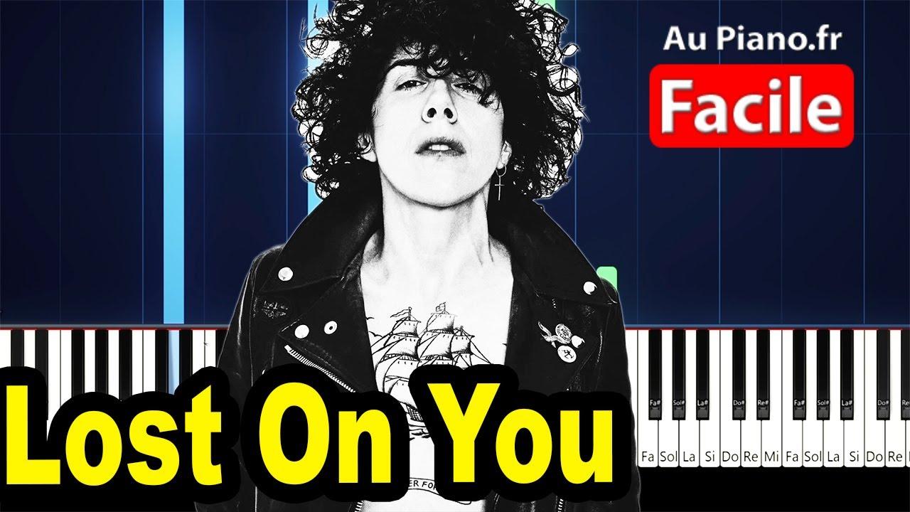 LP - Lost On You - Piano Tutorial FACILE (Au Piano.fr)