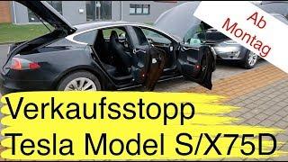 Überraschung: Tesla Model S/X75D nur noch bis Sonntag verfügbar I 5.000 EU Nissan Leaf 3 mit 62 kWh