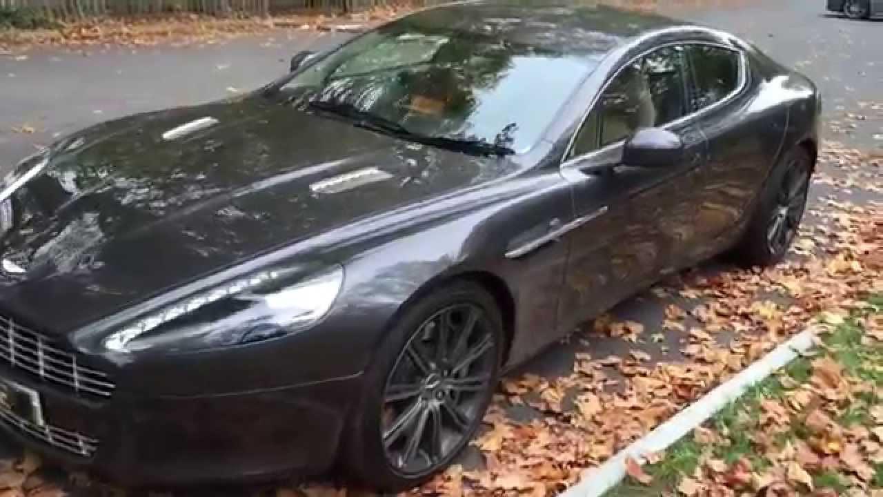 Aston Martin Rapide Hire 4 Door Interior Space Youtube