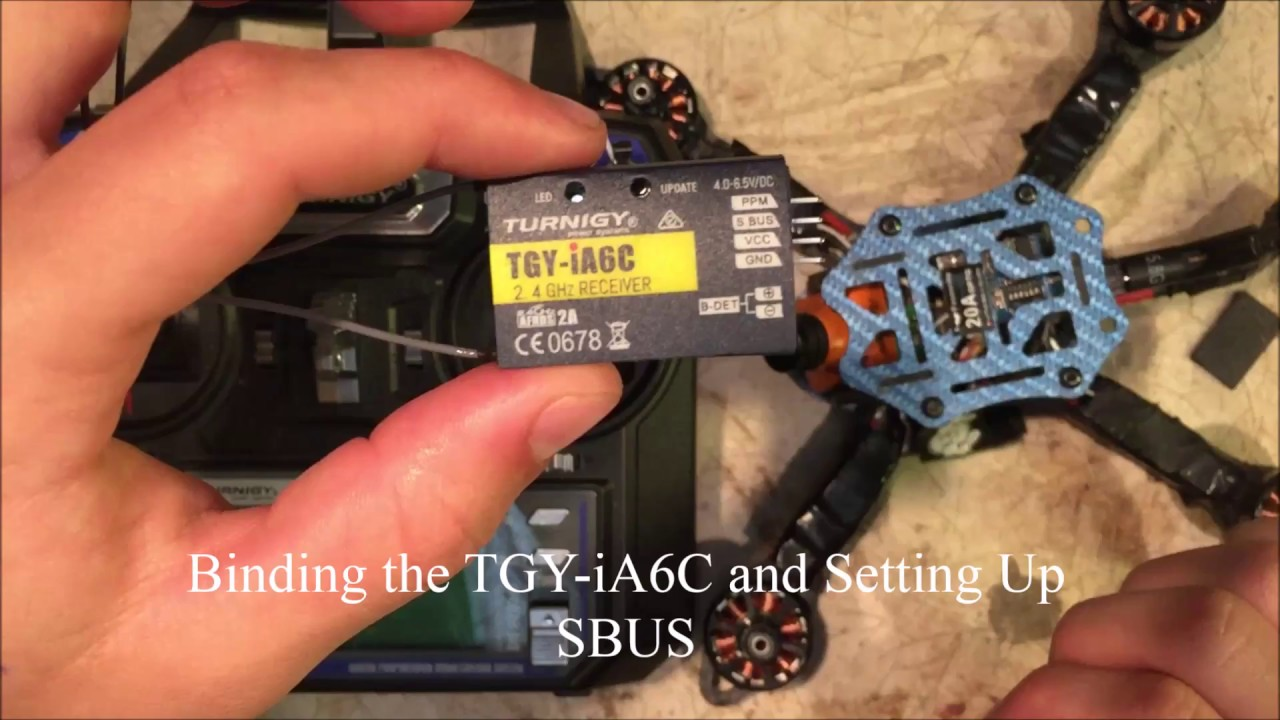 Binding Tgy Ia6c And Setting Up Sbus For Beta Flight Clean Tutaba Cc3d Wiring Diagrams Youtube