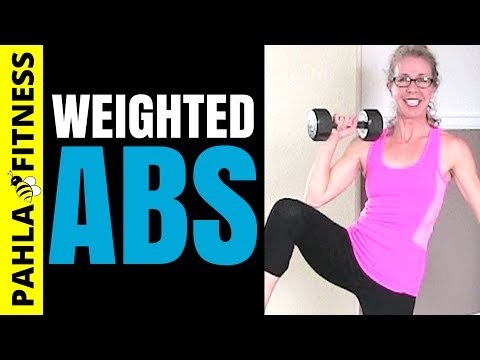 Advanced ABS Routine | 30 Minute Brutal WEIGHTED AB Workout for a Super Strong CORE