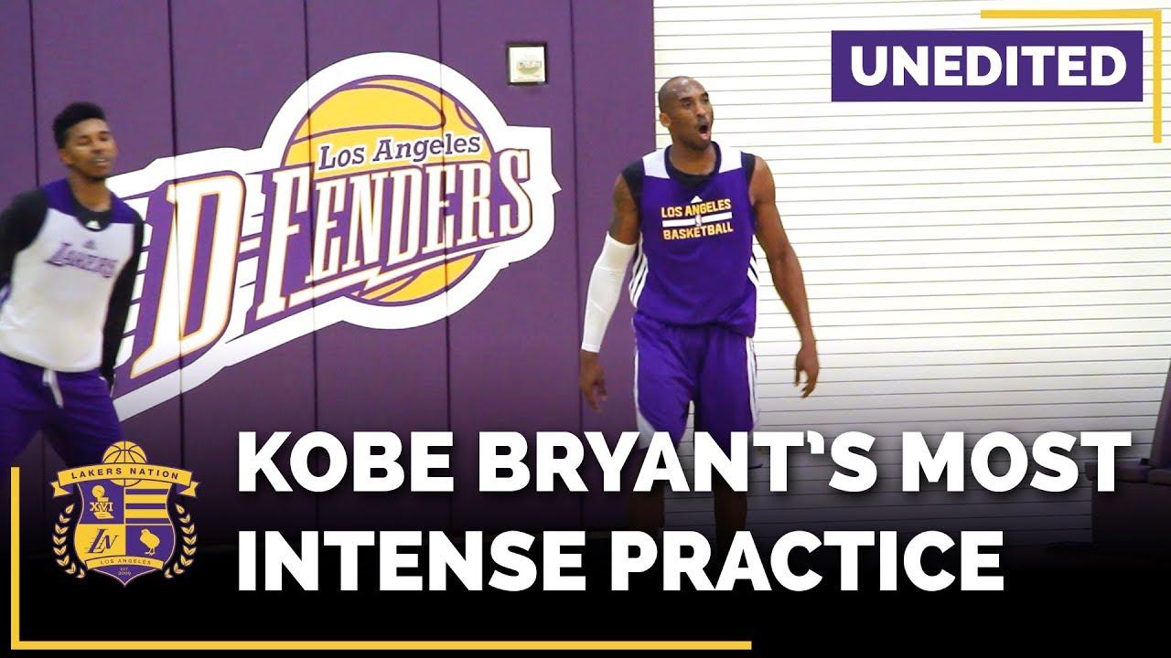 Download Kobe Bryant Trashtalking At Lakers Practice (EXPLICIT, Unedited)