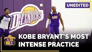Kobe Bryant Trashtalking At Lakers Practice (EXPLICIT, Unedited)
