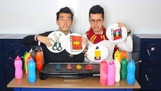 Útiles Escolares Comestibles (Tijeras, Pegante, Cuadernos y Más) - Ami Rodriguez Ft. Javier Ramirez