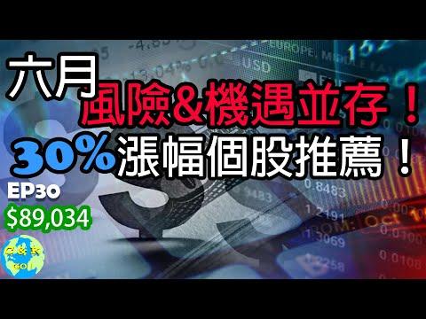 哪3支個股30%漲幅潛能?!|6月投資的風險&機遇|CK財富自由股息投資EP30
