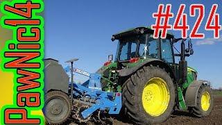 Siew łubinu JD 6105MC Agro-Lift Poznaniak 2,7m - Życie zwyczajnego rolnika #424