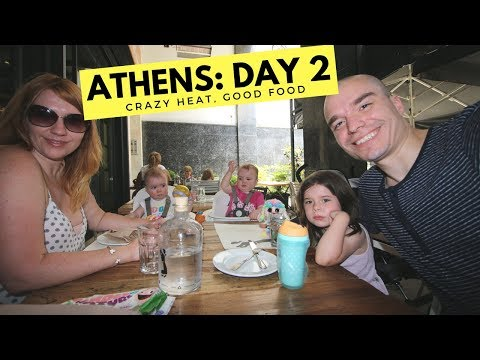 Family of Five Survives Athens Heatwave to Find IPAD + Best Greek Food