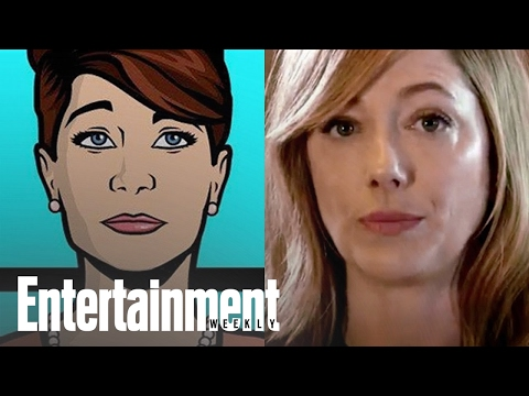 Archer: Judy Greer Recaps The Show In 30 Seconds | Entertainment Weekly