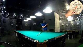 Видео-урок №7 - Сыгрывание шара с вращением