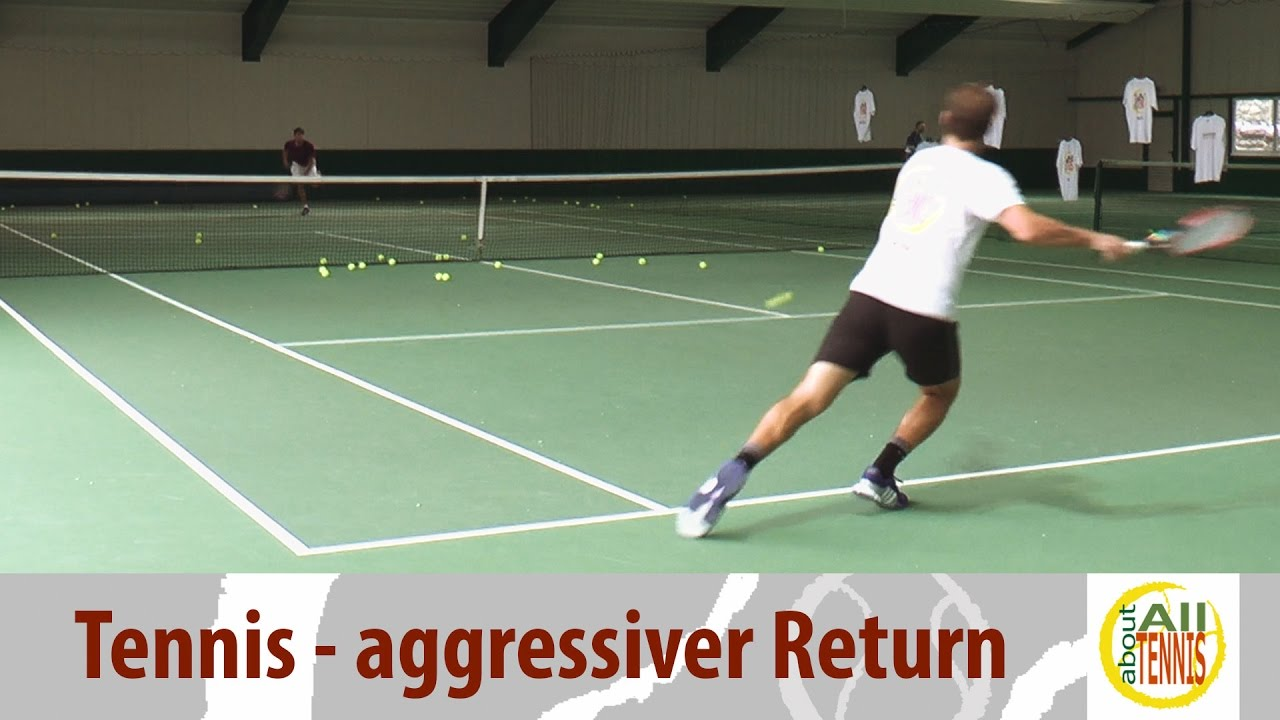 Tennis Teppich Der Aggressive Topspin Return Tennis Technik All About Tennis
