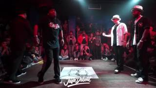 Salah & Franqey VS Poppin C & Ness   1 8 POPPING FINALS   JUSTE DEBOUT 2017