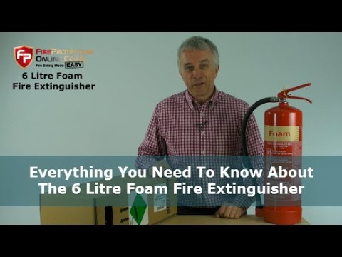 Everything You Need To Know About The 6 Litre Foam Fire Extinguisher