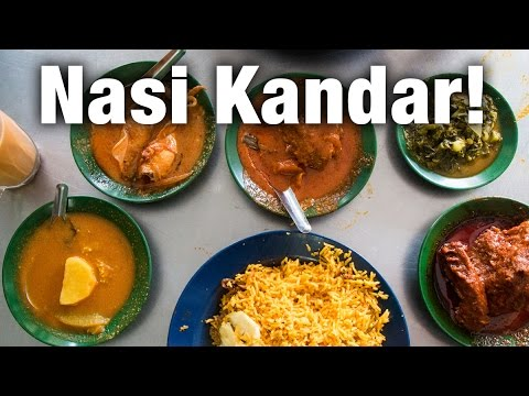Nasi Kandar in Penang: Insanely Good  Curry at Restoran Tajuddin Hussain