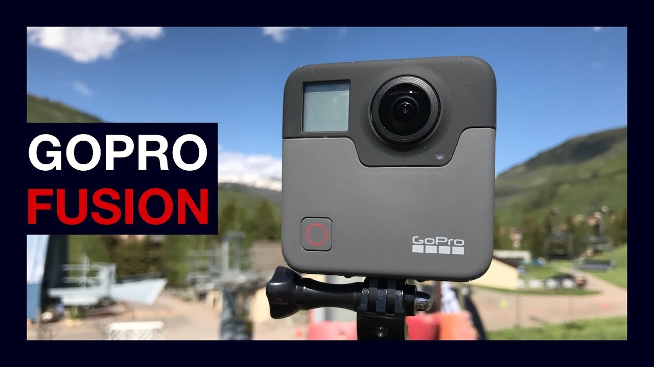 GoPro Fusion hands on and samples - 360 degrees of awesome