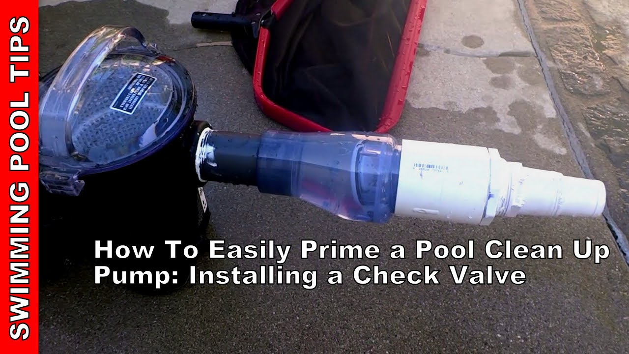 How To Easily Prime A Portable Clean Up Pump Installing A