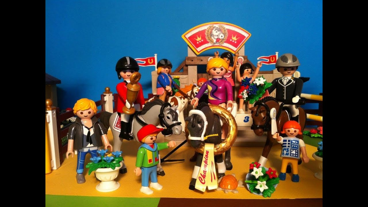 playmobil country centre questre equitation youtube. Black Bedroom Furniture Sets. Home Design Ideas