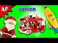 Custom Lego Santa's Christmas Three-Wheeler MOC Speed Build