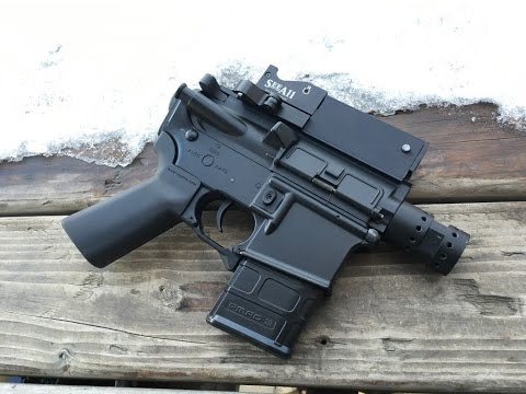 Stubby Airsoft M4 Pistol: HPA, DSG, or Something Else?